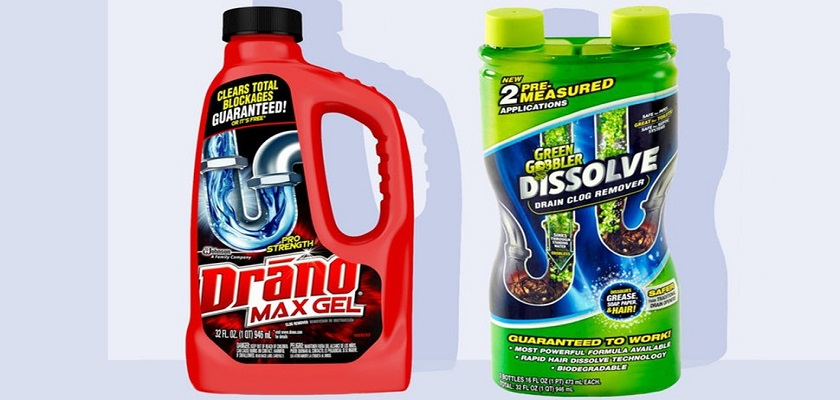 Chemicals to clear Shower Drain Clogs