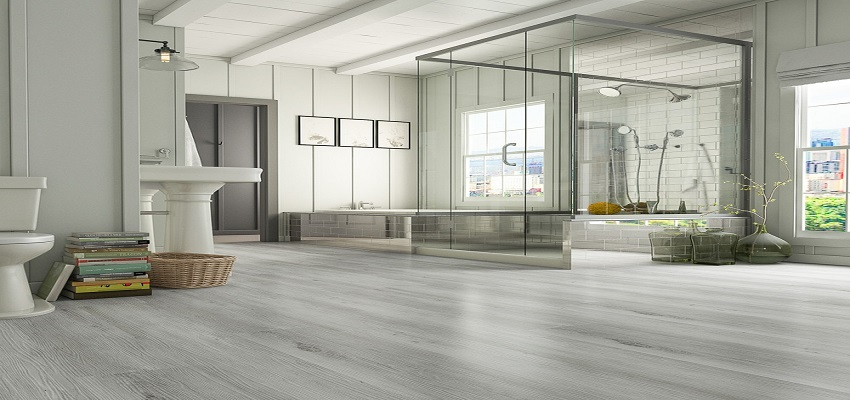 Vinyl flooring in Bathrooms